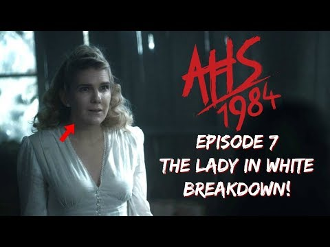 American Horror Story 1984 Episode 7 The Lady in White Breakdown and Review #AHS1984