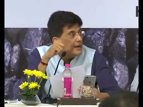 """Speaking at """"Coal Quality Seminar"""", New Delhi Piyush Goyal  Piyush Goyal"""
