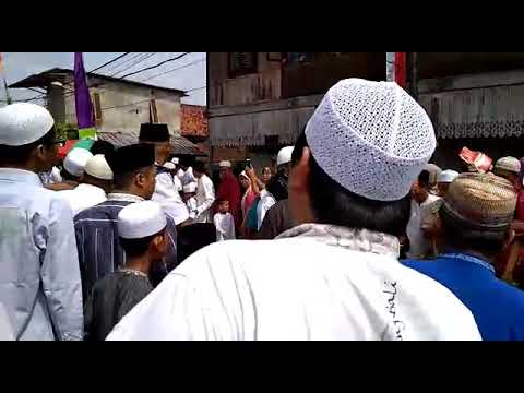 Menunggu kedatangan UAS Olak Kemang Jambi Kota Seberang tanggal 01042018