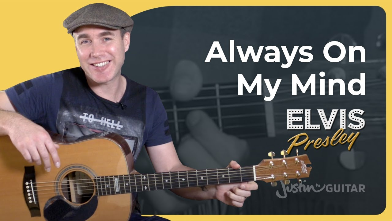 Always On My Mind – Elvis Presley – Beginner Easy Guitar Lesson Tutorial (BS-921)