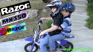10. Robert-Andre's Razor The Dirt Rocket MX 350 Electric Motocross Bike!  - Electric Motorcycle!
