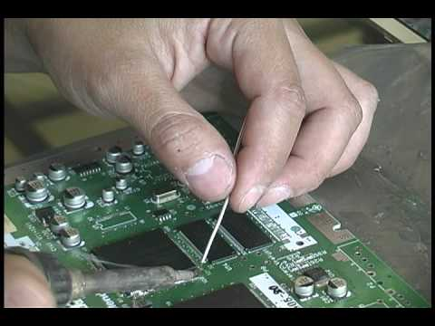 SMD Removal using a Chip Quik kit