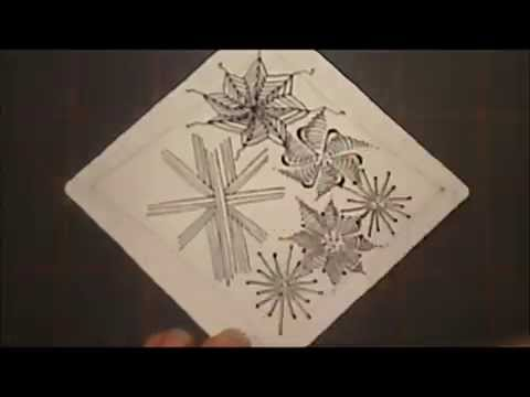 """Draw a Variety of """"Star Tangles"""" with Melinda Barlow, CZT"""
