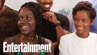 Video Black Panther Cast Felt The Love During Secret Fan Screening | SDCC 2017 | Entertainment Weekly MP3, 3GP, MP4, WEBM, AVI, FLV Januari 2018