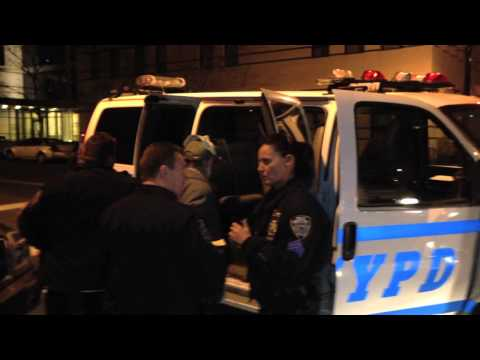 Cop Contradicts Herself While Ordering Arrests At Gracie Mansion