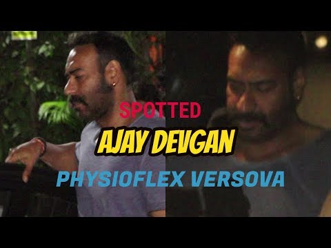 SINGHAM Ajay Devgan Spotted At Physioflex Versova