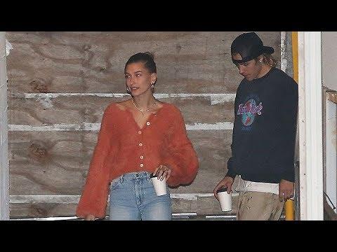 Justin Bieber And Hailey Baldwin Pray Together At Hillsong