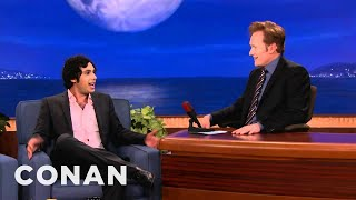 Kunal Nayyar nearly died on a horse in the middle of his wedding celebration.