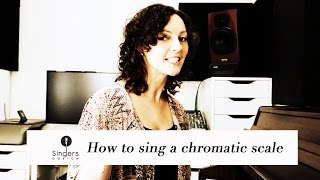 Download Lagu Learn to sing a chromatic scale // Singers Advice Mp3