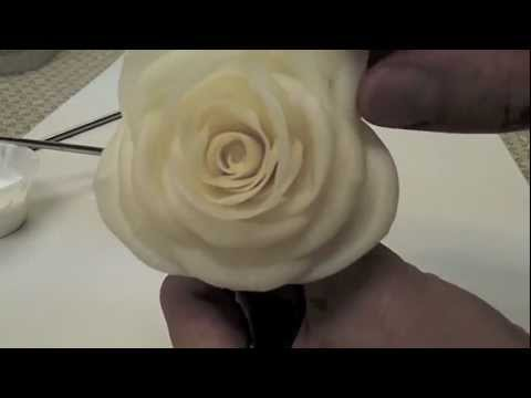 Quick Demonstration of How to Make Rose with YuYi Clay