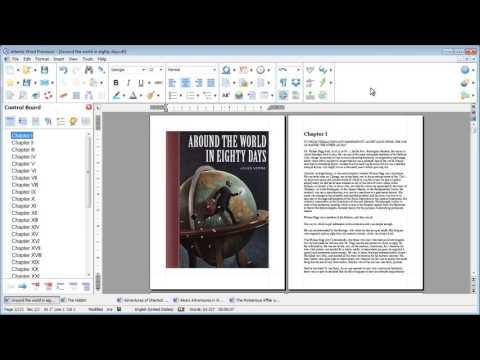 Atlantis Word Processor. New GUI preview.