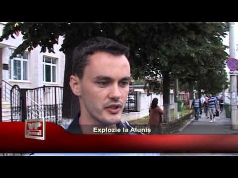 Explozie la Aluniș