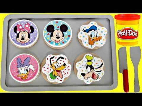 Let's Bake! Mickey Mouse Cookie Dough Play Set