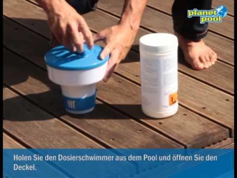 Keime und Bakterien abtöten im Pool -- so wird's gemacht!