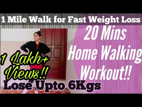 10 Walking Styles for Fast Weight Loss | Easy Home Walking Workout | Walk and be Fit