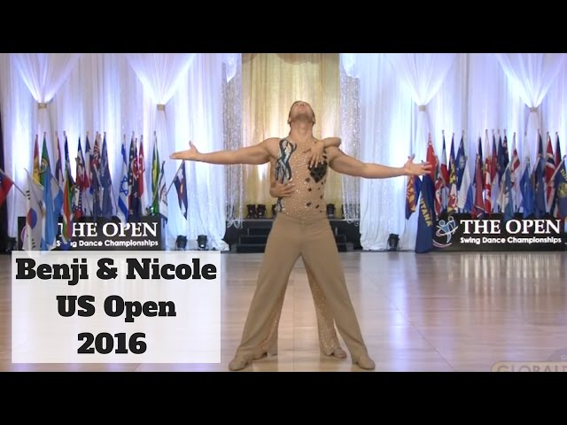 Benji Schwimmer & Nicole Clonch US Open Swing West Coast Swing 2016