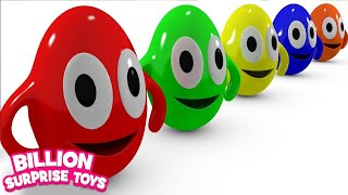 Video Funny Surprise Eggs Cartoons video for Children - Learn Colors 3D Animation Songs for Kids MP3, 3GP, MP4, WEBM, AVI, FLV Januari 2018