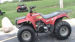 7. 2004 Kawasaki Bayou 250 $1,599 at Road Track & Trail