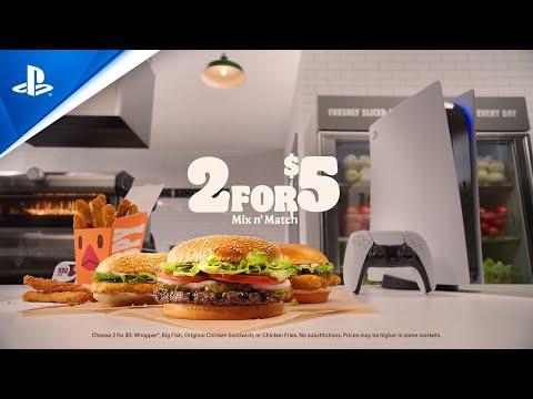 買漢堡送PS5還真的成真了