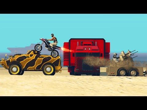 DLC TRAFIC D'ARMES GUN RUNNING (видео)