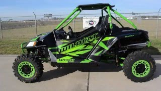 5. $19,999:  2016 Arctic Cat Wildcat X Limited Matte Black and Team Arctic Green