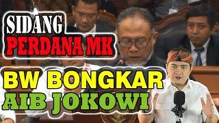 Video MENGEJUTKAN!!! SIDANG PERDANA MK:  BW BONGKAR AIB JOKOWI MP3, 3GP, MP4, WEBM, AVI, FLV Juni 2019