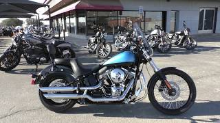 1. 037303   2011 Harley Davidson Softail Blackline   FXS - Used motorcycles for sale