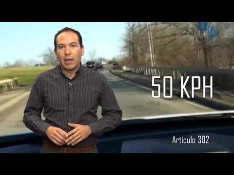 #52segundos - reglas generales para circulación de vehículos particulares