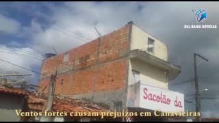 Ventos fortes em Canavieiras
