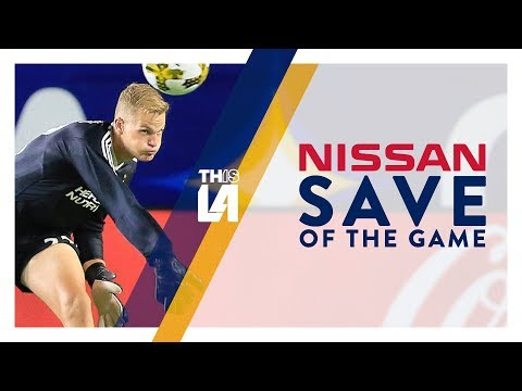 Video: Kempin makes a fingertip stop on Badji | Nissan Save of the Game