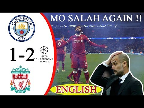 Manchester City VS Liverpool 1-2 (English Commentary) All Goals & Extended Highlight HD UCL Leg 2