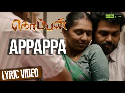 appappa-komban-song-by-shreya-goshal-2015-youtube