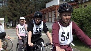 Okresní kolo dopravní soutěže mladých cyklistů