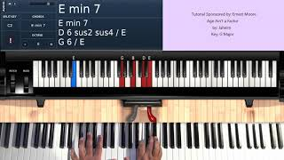 Age Ain't a Factor (by Jaheim) - Piano Tutorial