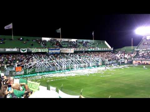 Banfield 3 Rosario Central 1, hinchada del Taladro - La Banda del Sur - Banfield