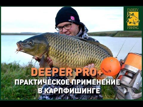 Deeper PRO+. Практическое применение в карпфишинге