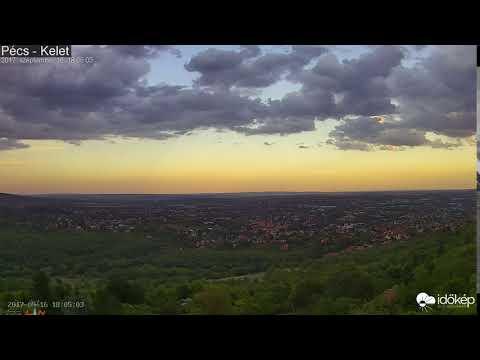 Pécsi szupercella_Időjárás Magyarország, Budapest. Heti legjobbak