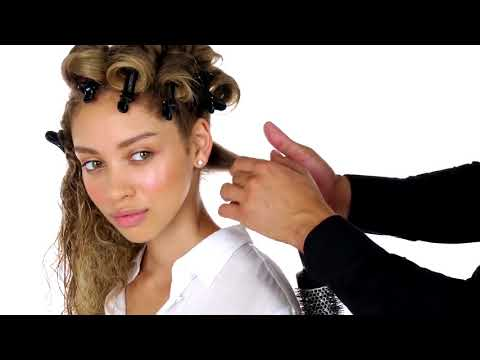 How To: Hollywood Waves for Curly Hair