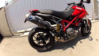 6. Ducati Hypermotard 796 Termignoni full exhaust