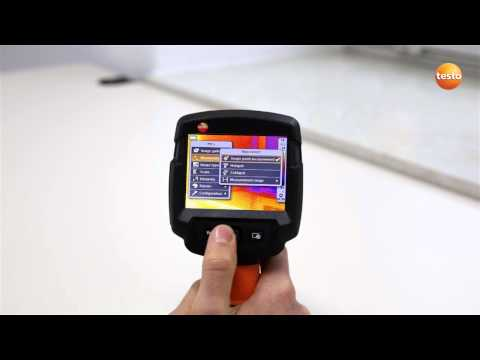 testo 870 - Step 03 - First start up of the Thermal imaging