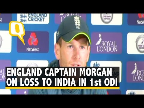 England captain Eoin Morgan speaks after 8 wicket loss to India