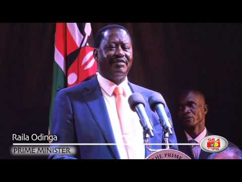 Raila launches presidential campaign website