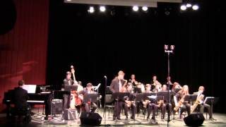Nassau Suffolk Jazz Ensemble Cut n Run 1 31 15 CW Post Tilles Center - YouTube