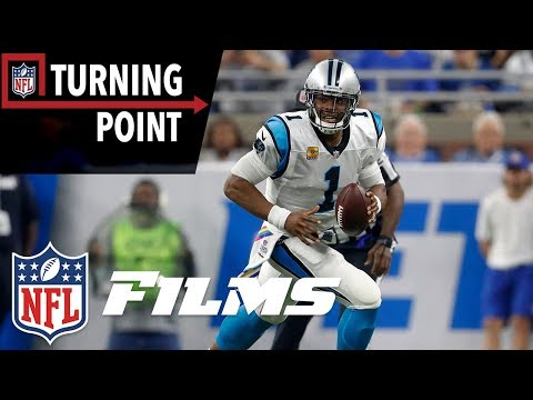 Video: Cam Newton Hits Full Stride Against the Lions Defense (Week 5) | NFL Turning Point