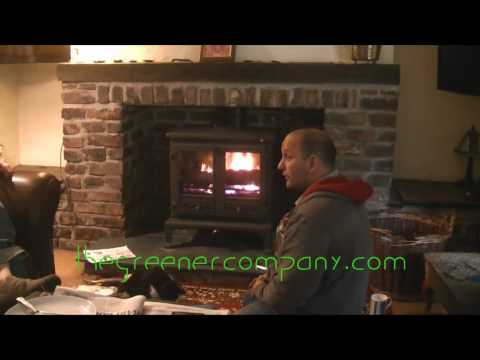 LOG BURNING STOVES WITH BACKBOILERS - BOILER STOVES, WATER HEATER