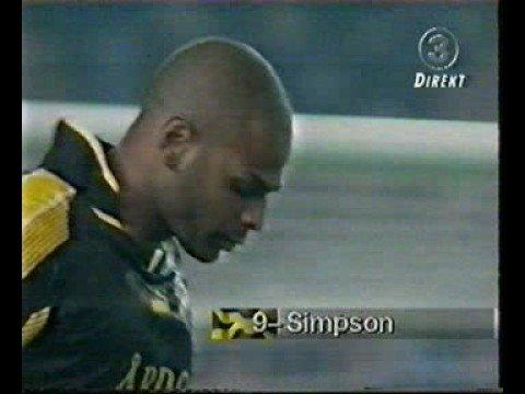 Pascal Simpsons klassiska mål på FC Barcelona 1997
