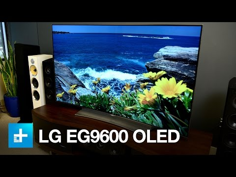LG OLED 4K UHDTV EG9600 - Hands On Review