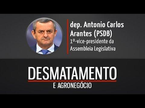 Deputado Antonio Carlos Arantes fala de desmatamento e agronegócio