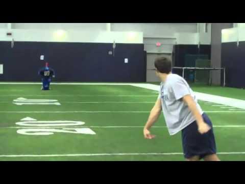 Johnny McEntee amazing quarterback