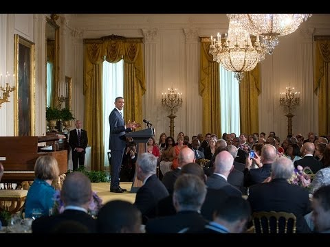 president - Christian leaders from across the country join President Obama at a breakfast to pray and reflect on Holy Week and Easter. President Obama said that his pray...